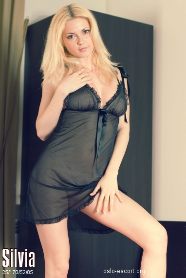Silvia, 25 years old Russian escort in Oslo