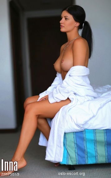 Inna, Russian escort in Oslo who offers 69
