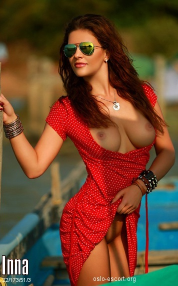 Inna, Russian escort in Oslo who offers girlfriend experience