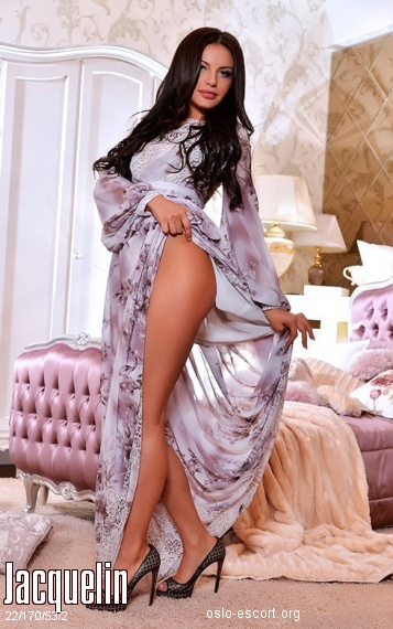 Jacquelin, Russian escort in Oslo who offers girlfriend experience