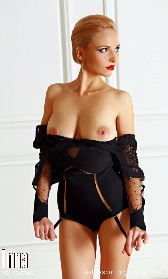 Inna, Russian escort in Oslo who offers massages