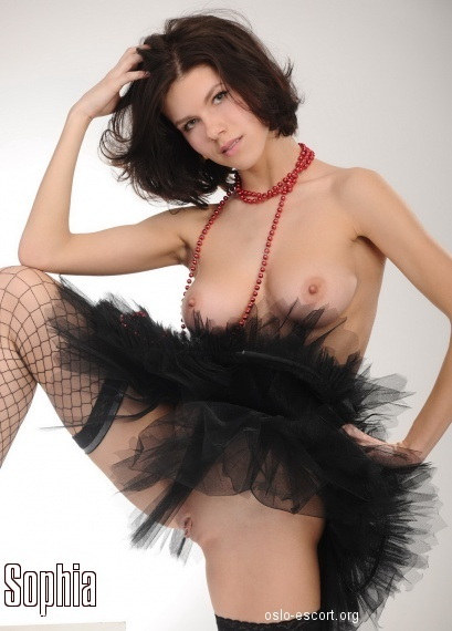 Sophia, Russian escort in Oslo who offers oral job